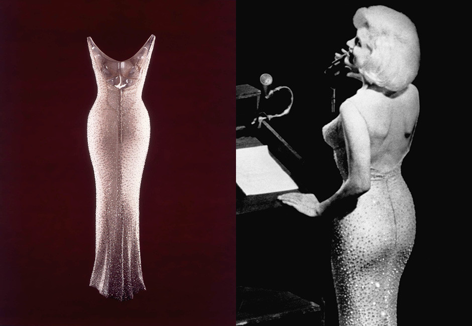 «Президентское» платье Мэрилин
