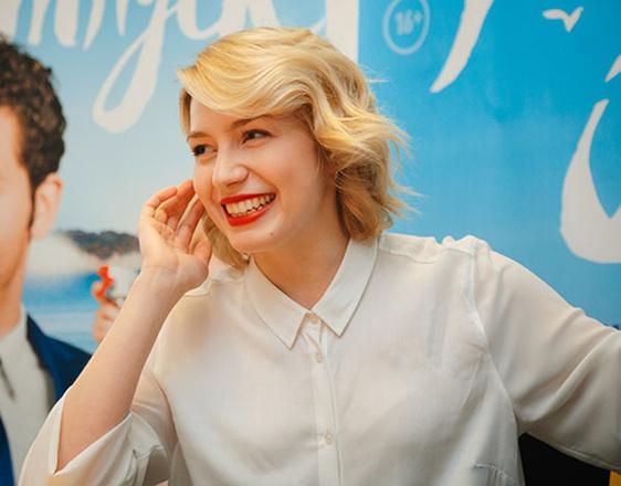 Актриса Валерия Федорович в Екатеринбурге, фото