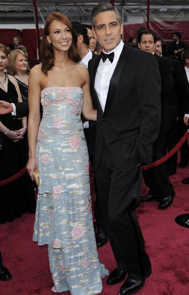 Джордж Клуни с возлюбленной