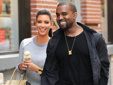 Канье Уэст (Kanye West) и Ким Кардашьян (Kim Kardashian) провели целые выходные вместе