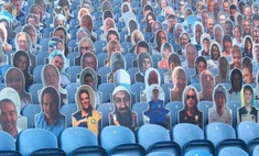 Британский футбольный клуб извинился за картонного бен Ладена, появившегося на трибунах