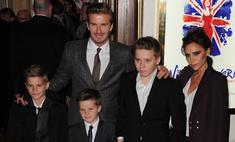 Семья Бекхэм признана самой стильной