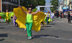 Карнавал в Иркутске: яркие фото праздника