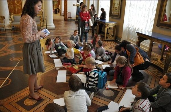 Русский музей с рисованием