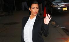 Ким Кардашьян не может определиться с именем будещего ребенка