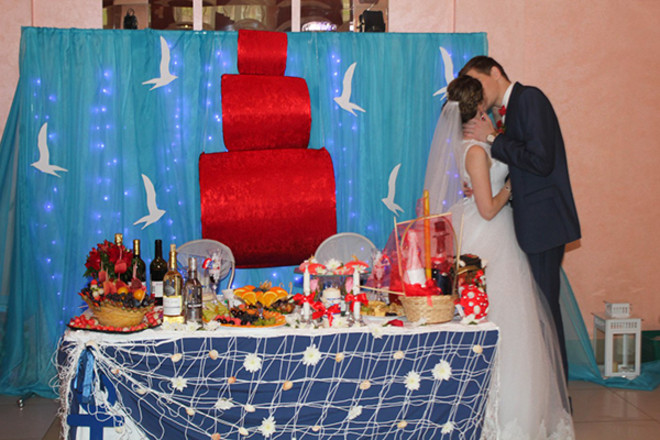 Ольга и Максим Высоковы, свадьба