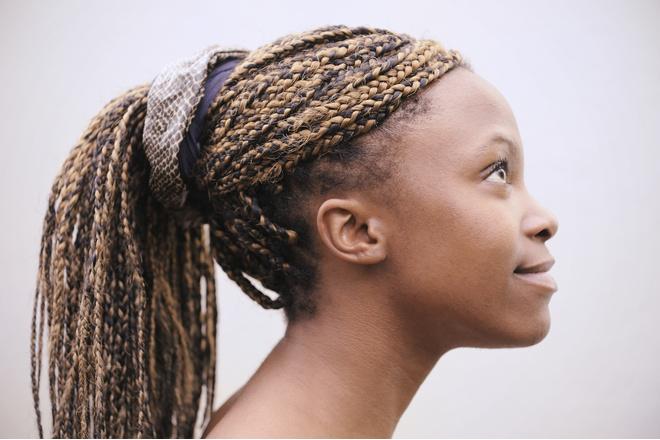 Африканские косички зизи