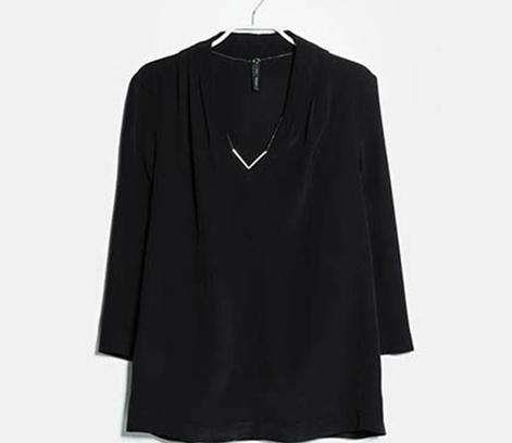 Струящаяся блузка с цепочкой