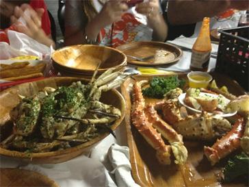 Кристина Орбакайте отдает предпочтение морепродуктам.