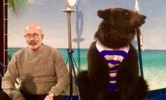 Александр Розенбаум в Красноярске устроил фотосессию с цирковыми медведями