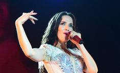 Наталия Орейро в Новосибирске переодевалась на глазах у публики!
