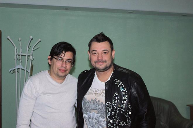 Сергей Жуков: фото после концерта