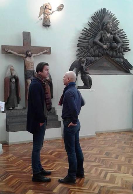 Теодор Курентзис в Пермской художественной галерее