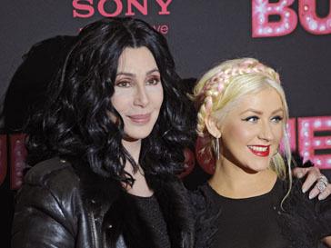 Шер (Cher) и Кристина Агилера (Christina Aguilera)