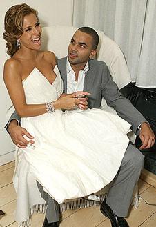 Ева и Тони в день свадьбы (7 июля 2007 г.)