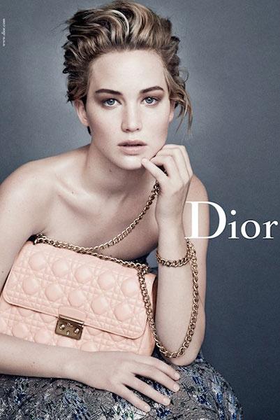 Дженнифер Лоуренс для Dior