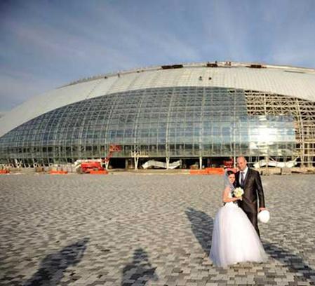 Олимпийская свадьба