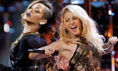 Шакира и Рианна презентовали совместный клип