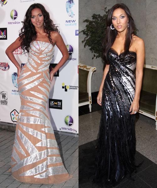 Алсу берет пример со звезд Голливуда, предпочитая сексуальные платья-бюстье