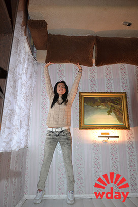 В Волгограде открылся дом-перевертыш