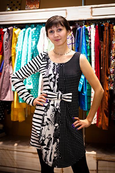 Платье от Софьи Бессарабовой