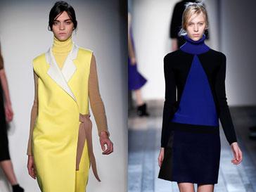 Коллекция Victoria Beckham сезона осень-зима 2013/14 на Неделе моды в Нью-Йорке