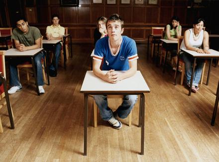 Подросток в школе