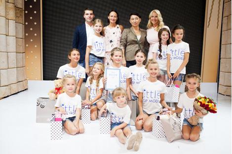 Финал конкурса «LITTLE TOP MODEL OF RUSSIA 2015»   галерея [1] фото [8]