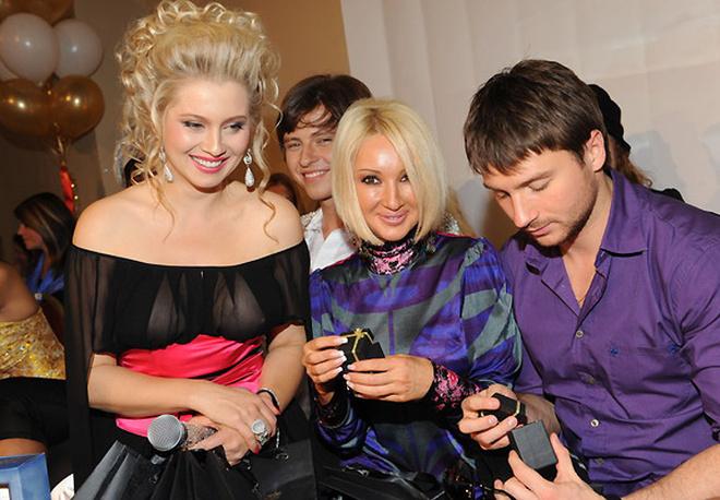 Лена Ленина, Лера Кудрявцева, Сергей Лазарев