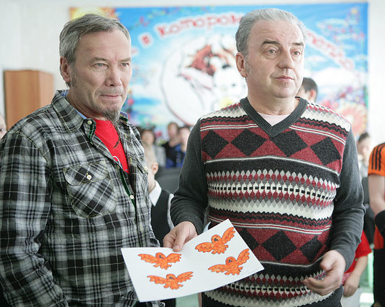 """Владимир Шахрин, Владимир Бегунов, группа """"Чайф"""", фото"""