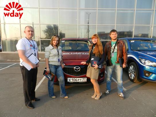 SKYACTIV CHALLENGE-2014 в Пензе, Автолоцман, иномарки, автомобили в Пензе, Mazda, мазда, тест-драйв, квест на авто