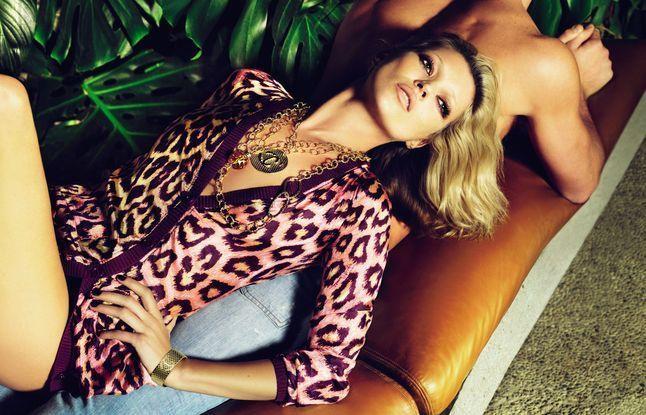 Кейт Мосс в фотосессии для Just Cavalli