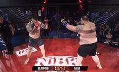 212-килограммовый российский боец по прозвищу «Папа» победил в своем первом бою MMA за 20 секунд (видео)