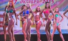 В Красноярске выбрали самую красивую «Мисс фитнес-бикини – 2015»