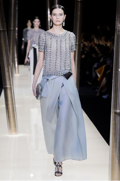 На Неделе высокой моды в Париже прошел юбилейный показ Giorgio Armani Prive | галерея [1] фото [7]