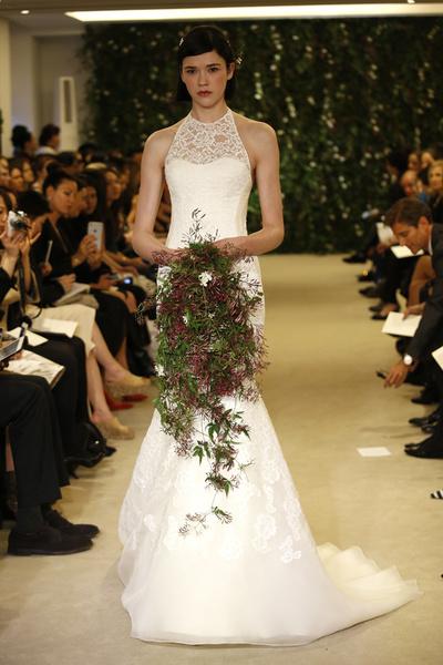 Показ Carolina Herrera на Неделе свадебной моды в Нью-Йорке | галерея [1] фото [17]