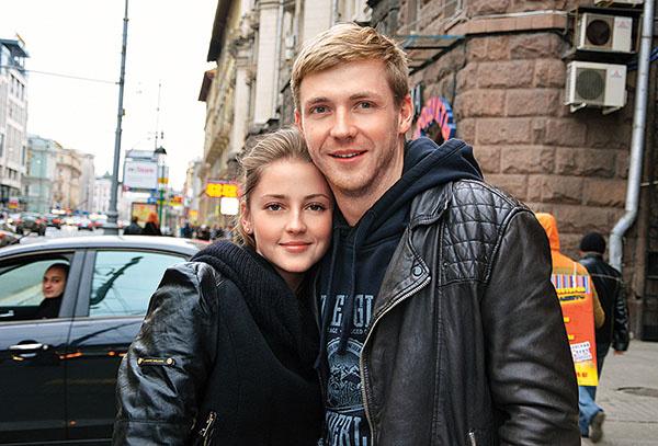 Анна Михайловская и Тимофей Каратаев