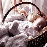 Кирия Арина Бадриевна. 2 месяца.Краснодар.Снится сладкий сон с ангелочками.