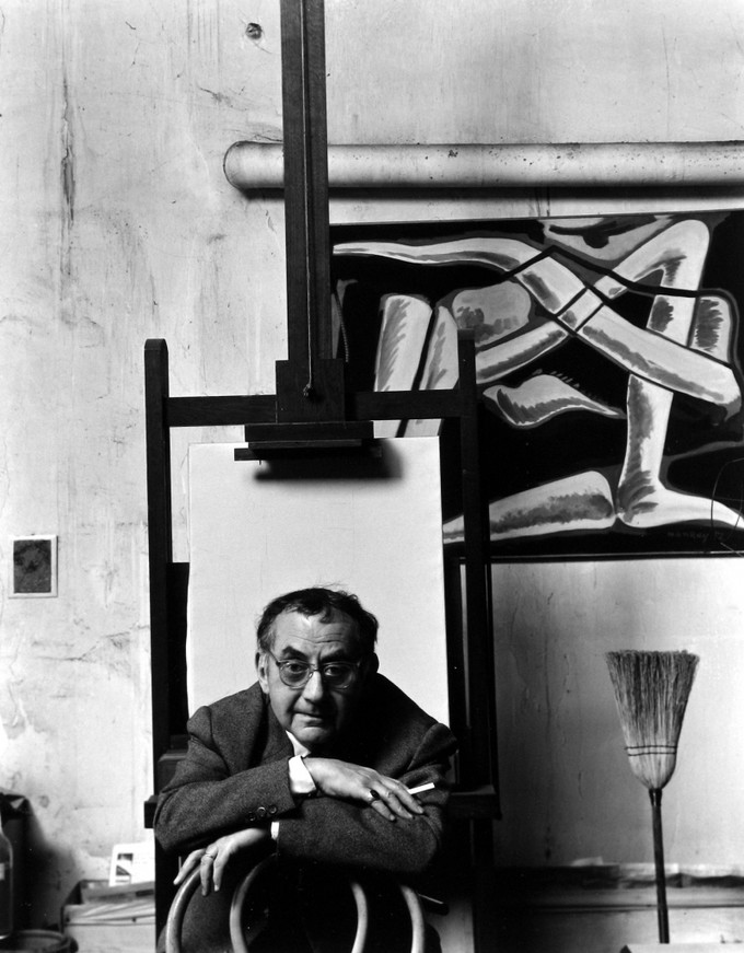 Арнольд Ньюман. Ман Рэй, фотограф, художник, дадаист, Париж, Франция, 1960