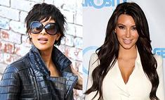 Ким Кардашьян примерила короткую стрижку