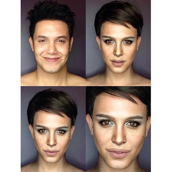 Филиппинский визажист перевоплотился в звезд с помощью макияжа   галерея [1] фото [8]