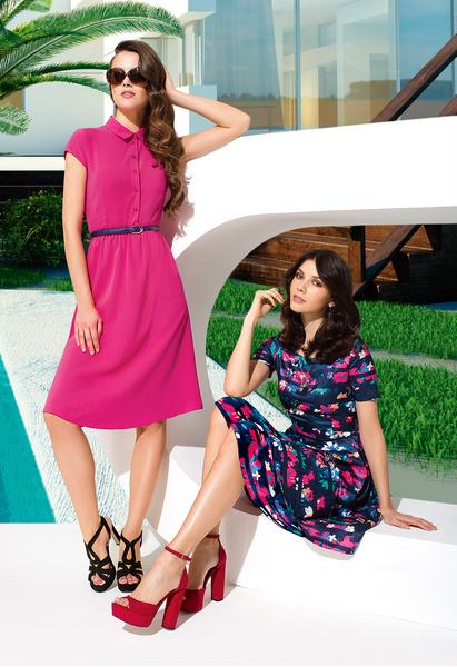 Все краски лета в новой коллекции платьев Faberlic