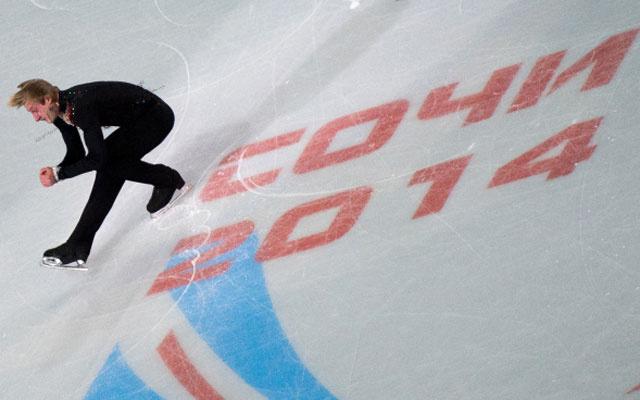 Евгений Плющенко, короткая программа, Олимпиада в Сочи 2014
