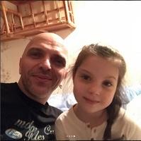 Александр Шоуа и дочь