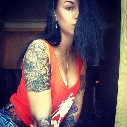 татуированные девушки