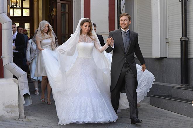 Галина Юдашкина свадьба