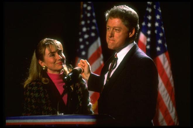 Билл и Хиллари, 1994 год