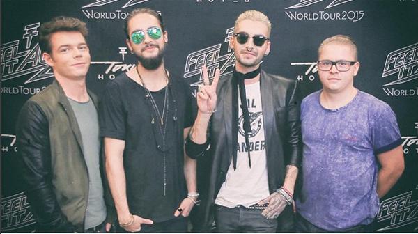 Концерт Tokio Hotel в Волгограде