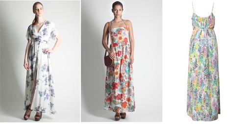 длинные юбки летние в цветочек: