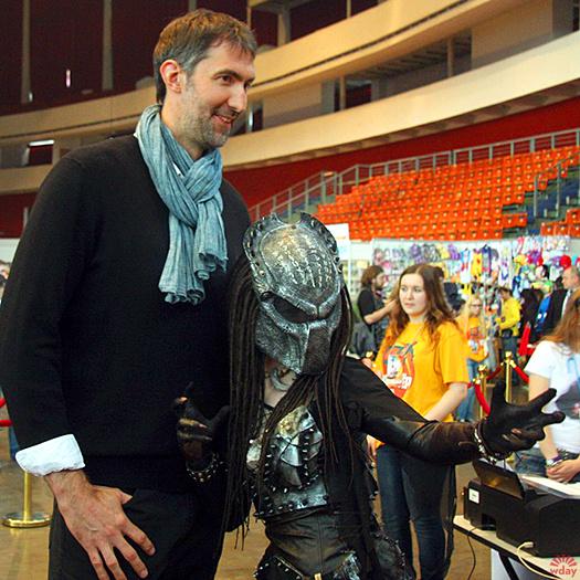 Йен Уайт на фестивале Comic Con в Петербурге: фото